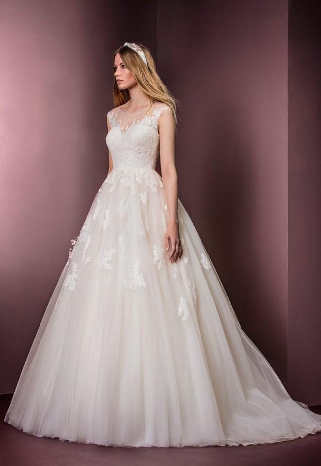 4ffd6b769a8 Ellis Bridal 11477 Sample Wedding Dress on Sale 66% Off - Stillwhite