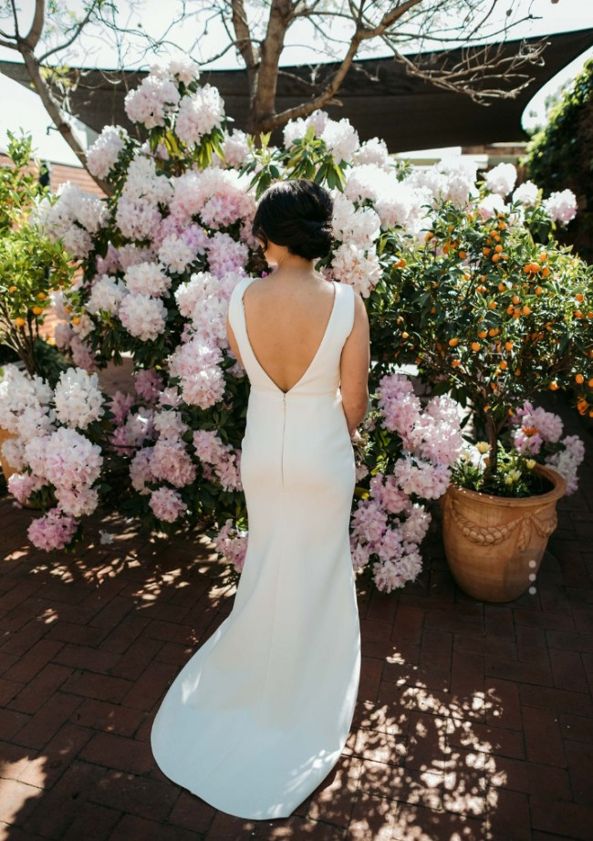 One Day Bridal Cape Gown