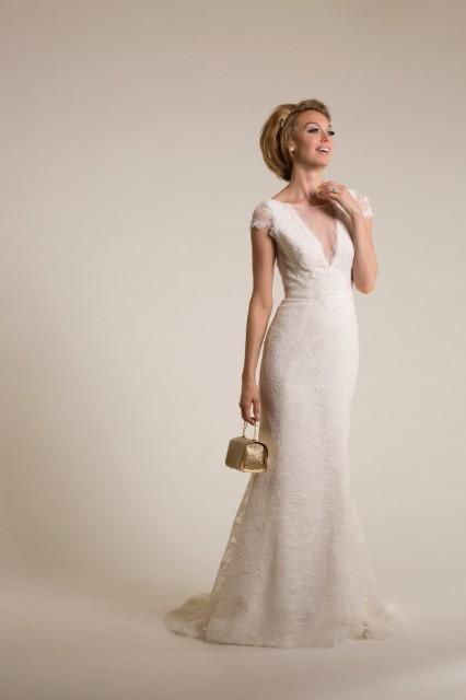Amy Kuschel Starr Preowned Wedding Dress On Sale 33 Off Stillwhite