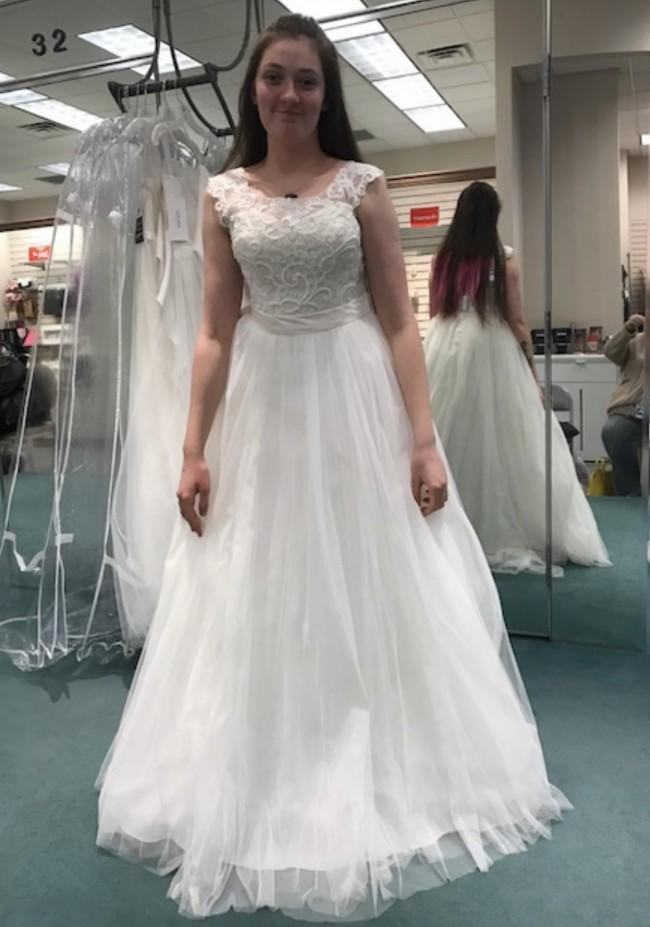 David's Bridal WG3741
