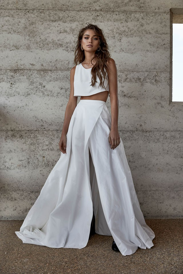 Image result for wedding skirt top