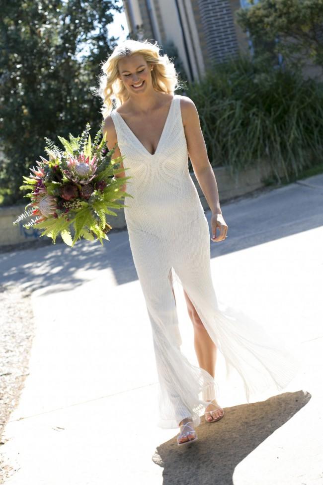 Rachel Gilbert Lyla Gown