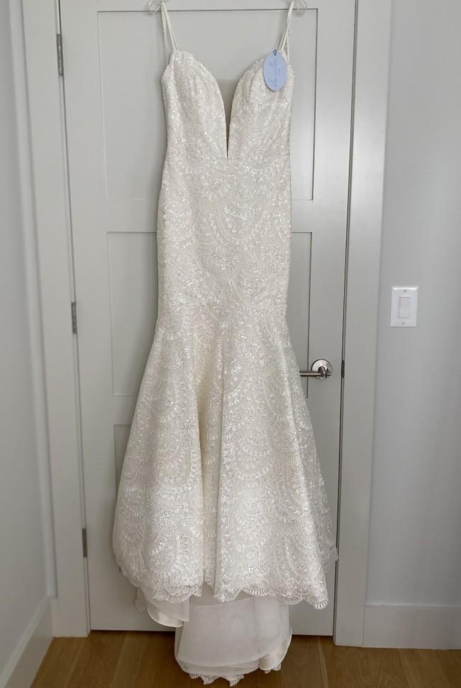 Anne Barge Amaretto Dress  &  Veil - Kiera Elise Collection