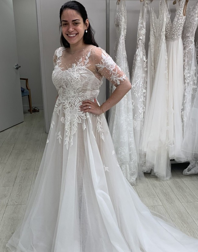 Reem Acra First Dance- part of the 2019 Celebration collecti
