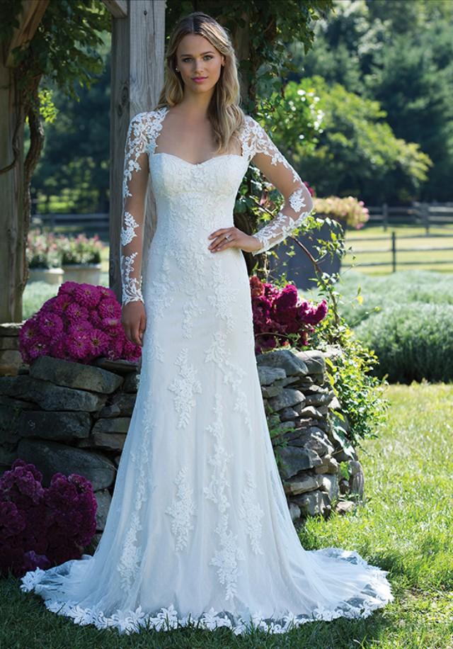 5e86ac8f676e5 Sincerity Bridal 3981 New Wedding Dress on Sale 50% Off - Stillwhite United  Kingdom