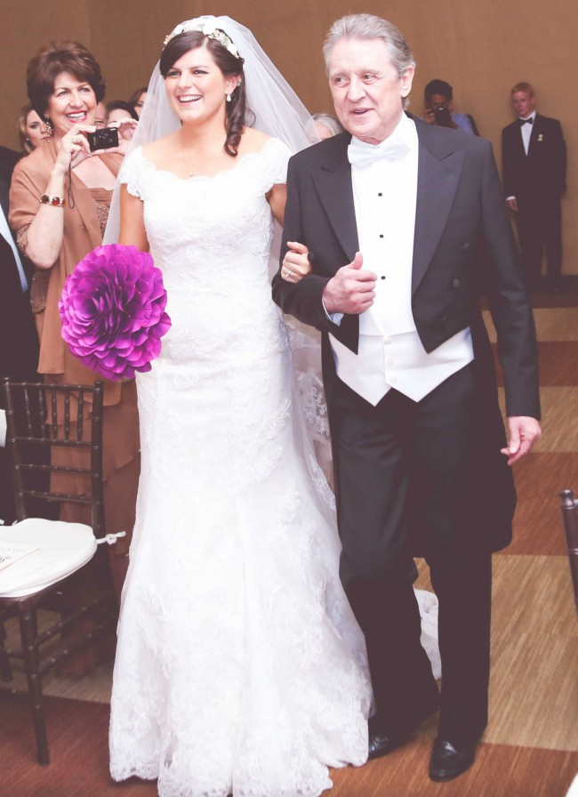 Oleg Cassini Off The Shoulder Chantilly Lace Trumpet Gown