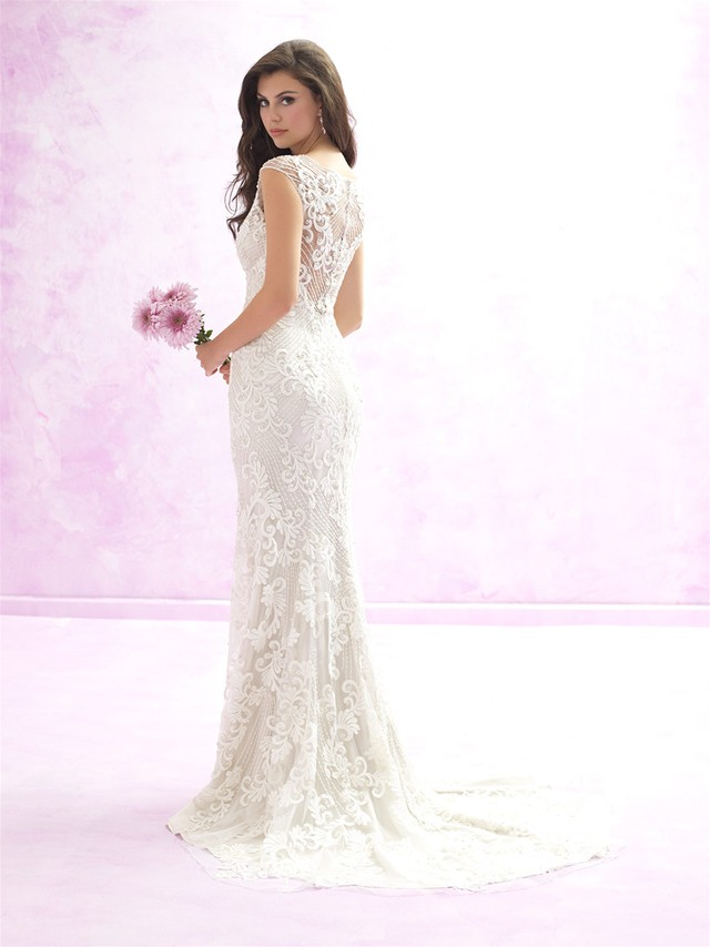 435c39f442 Madison James MJ109 Used Wedding Dress on Sale 69% Off - Stillwhite