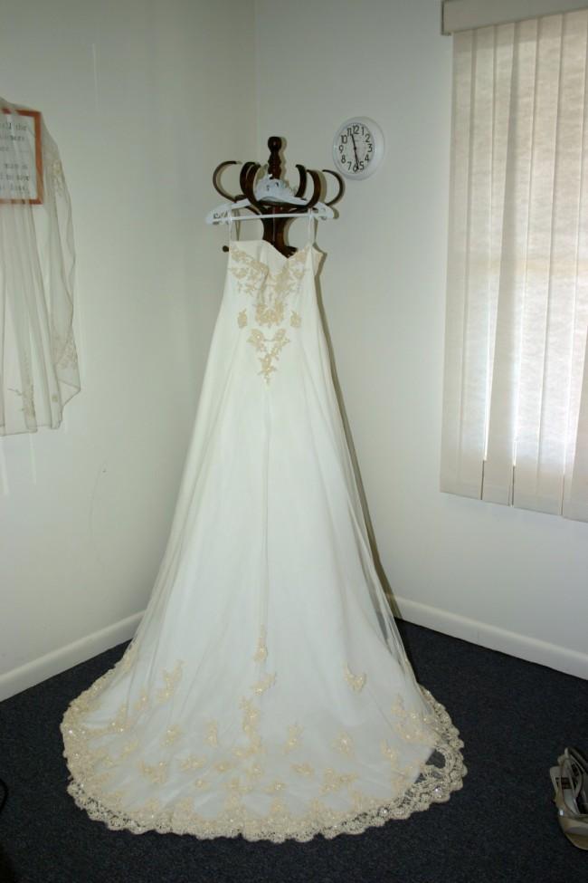David's Bridal T8818