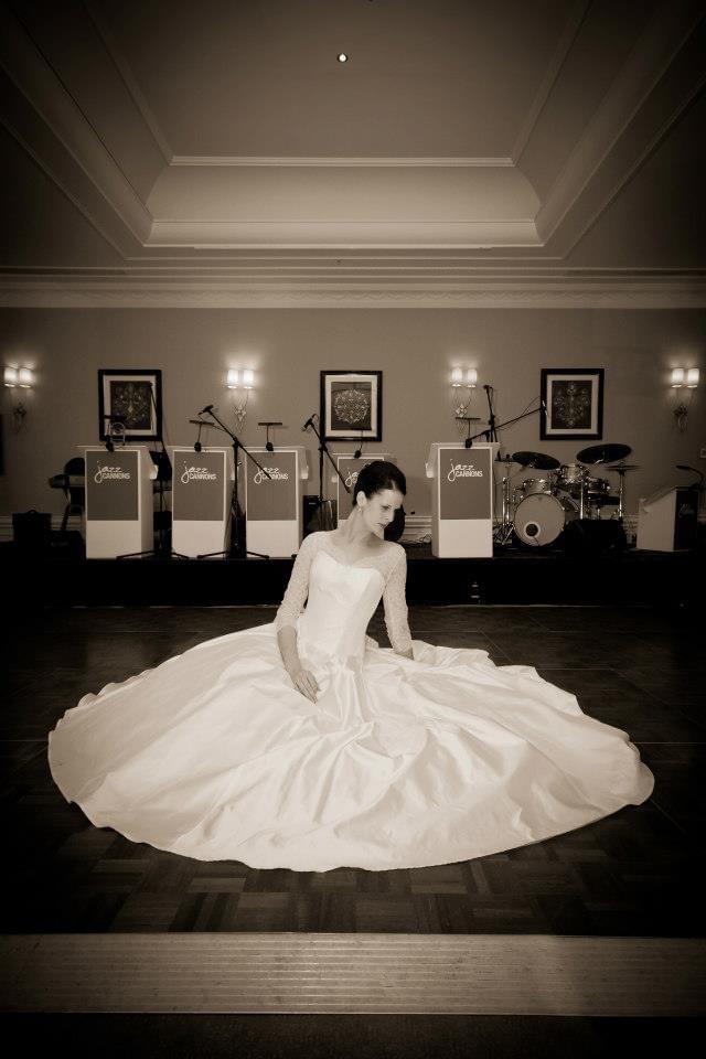 Blue Bridalwear Custom Made