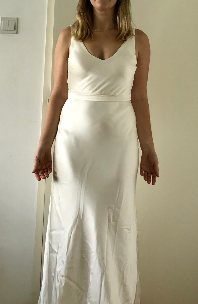 Jennifer Regan Blair New Wedding Dress On Sale 55 Off Stillwhite