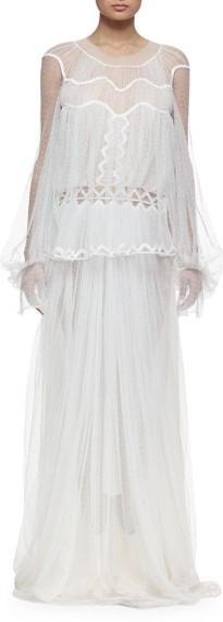 Chloe, Chloe Herringbone Wedding Dress