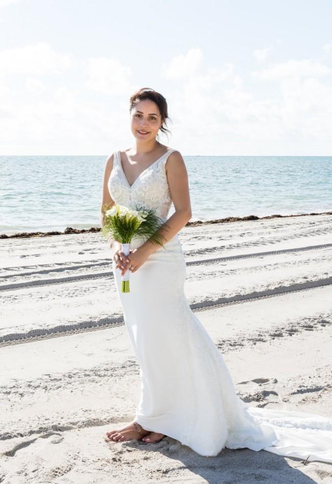 Bellísima Bridals Bellísima Bridals v neck mermaid wedding gown- bea