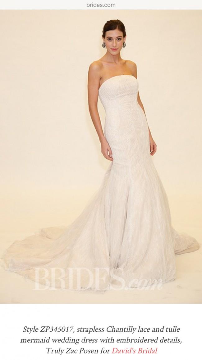 b74f19c71c03 Truly Zac Posen zp345017 New Wedding Dress on Sale 76% Off - Stillwhite
