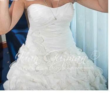 David's Bridal SV415