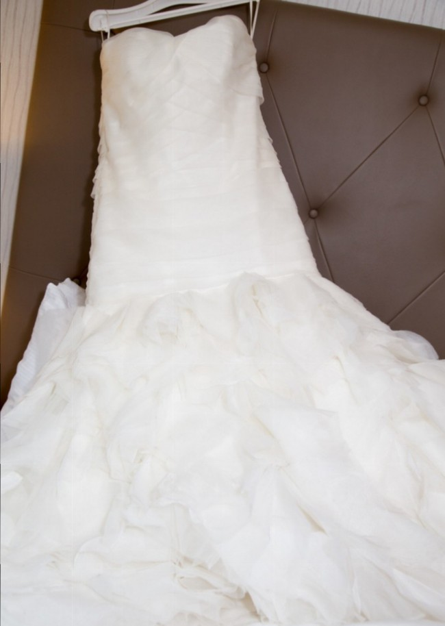Kleinfeld Dennis Basso Sweetheart Mermaid Gown