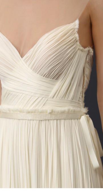 J Mendel, Isadora gown