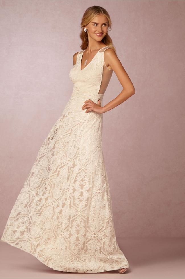 Tadashi Shoji Bhldn Pendleton New Wedding Dress On Sale 63 Off