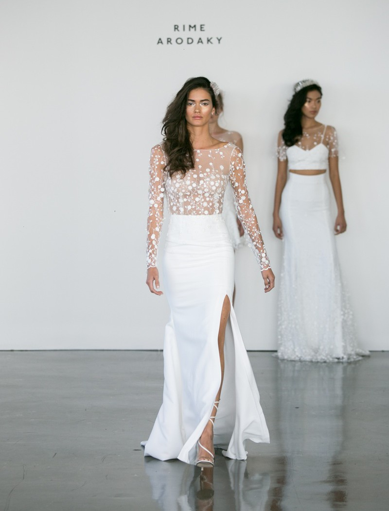 Rime Arodaky Blair Used Wedding Dress On Sale 50 Off Stillwhite