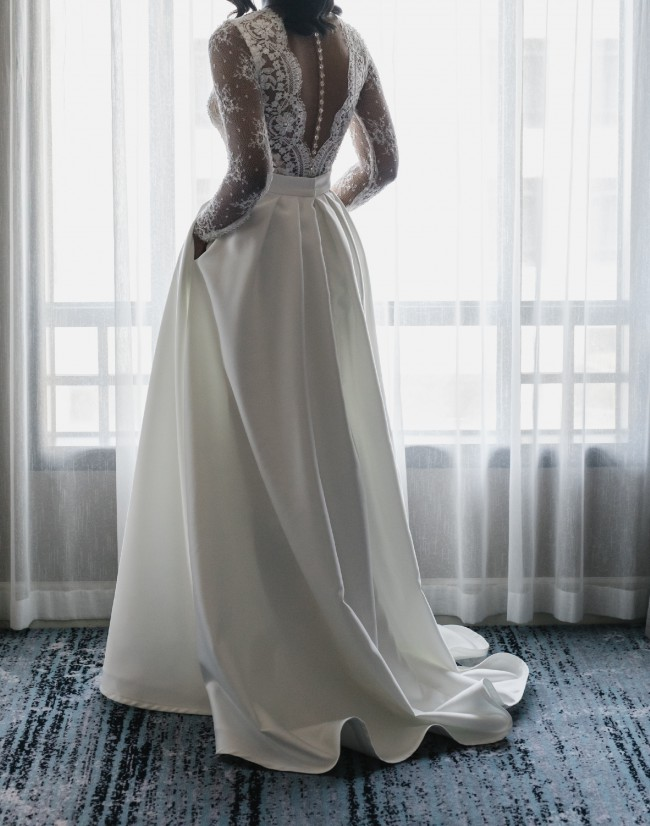 Rosa Clara Custom Made - Penelope with Overskirt