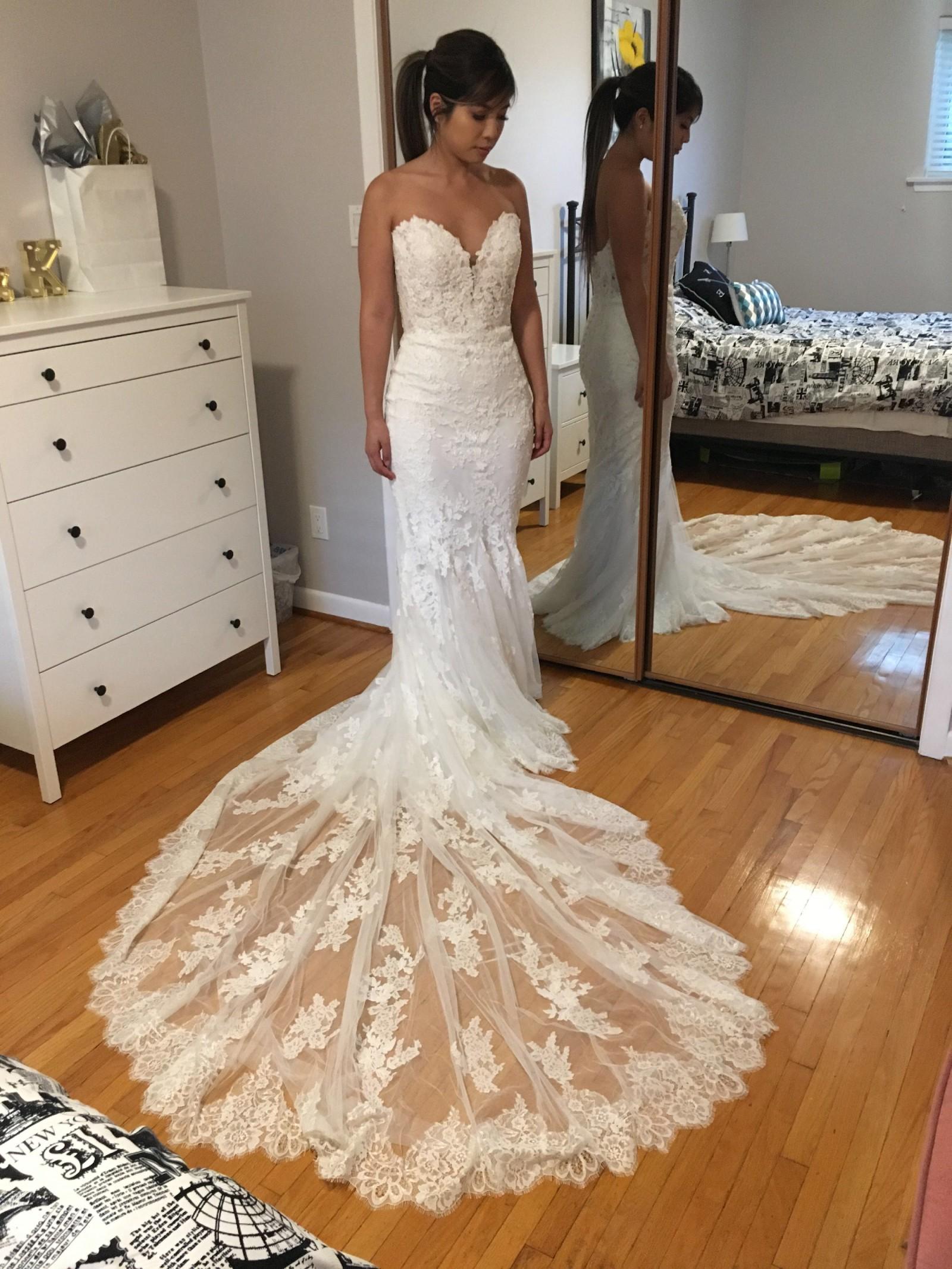 Pronovias Ermin New Wedding Dress Save 36 Stillwhite