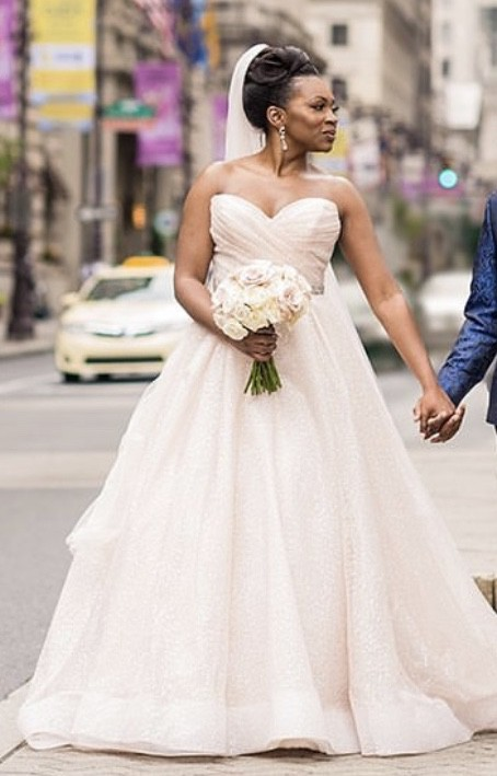 Lazaro 3810 Used Wedding Dress On