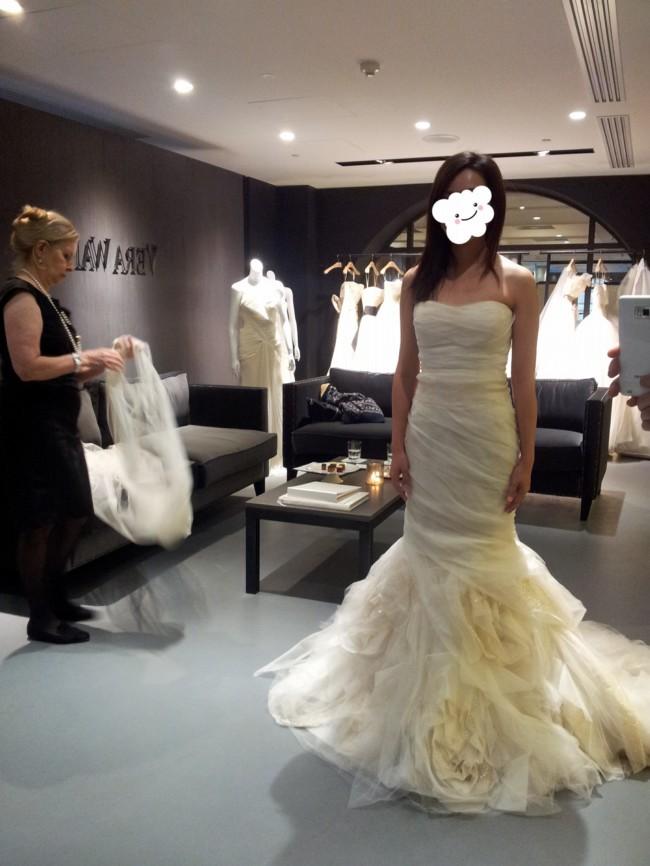 bee42cae058 Vera Wang Gemma Second Hand Wedding Dress on Sale 51% Off ...