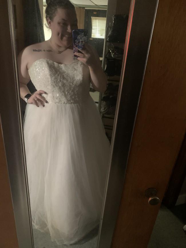David's Bridal 9WG3672