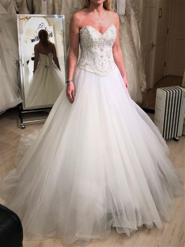 Maggie Sottero Carrington Bodice and Kallin Skirt
