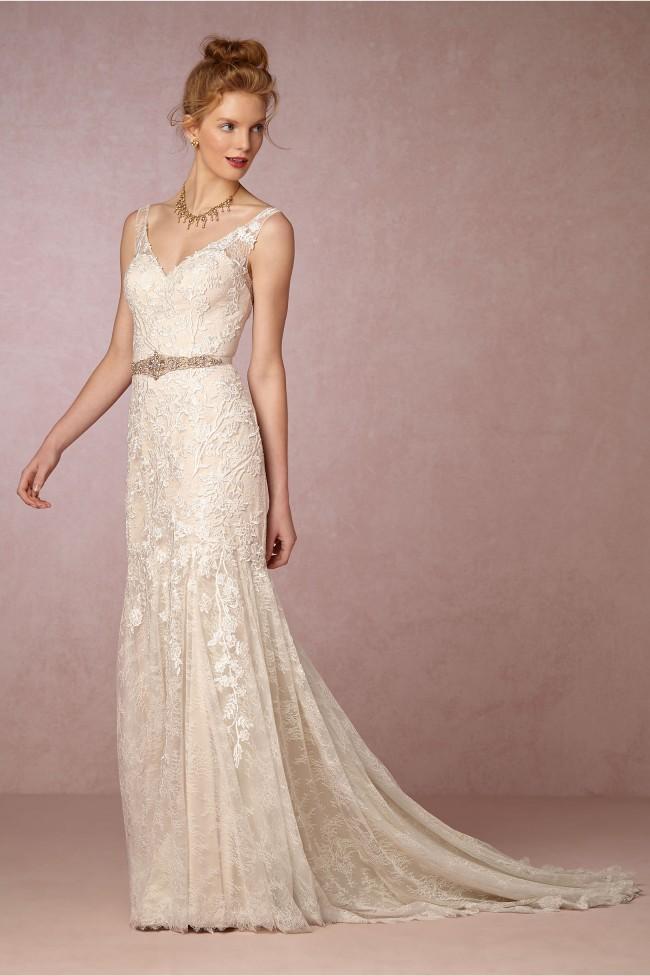 BHLDN Elisha gown