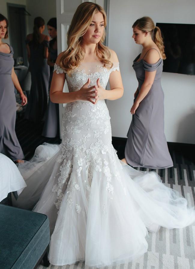 1fb0e66626 Steven Khalil Second Hand Wedding Dress on Sale 46% Off - Stillwhite ...