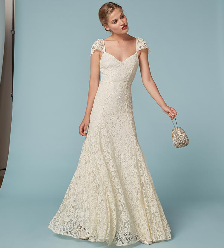 Reformation Seleste New Wedding Dress On Sale 2% Off
