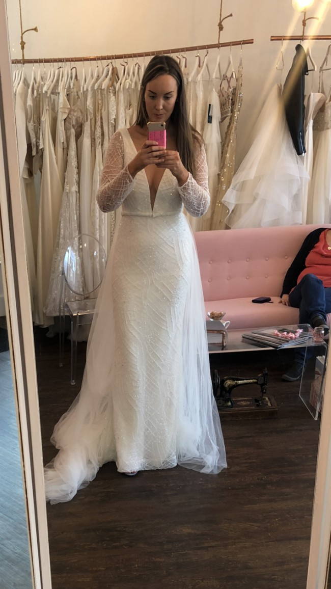 Marquise Bridal Custom Made with Revelle