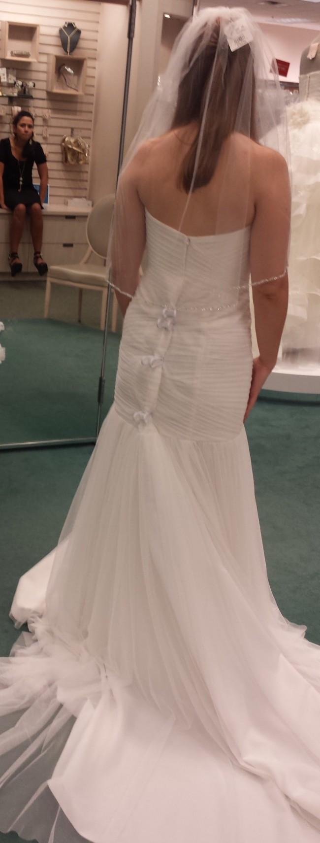 David's Bridal WG3591