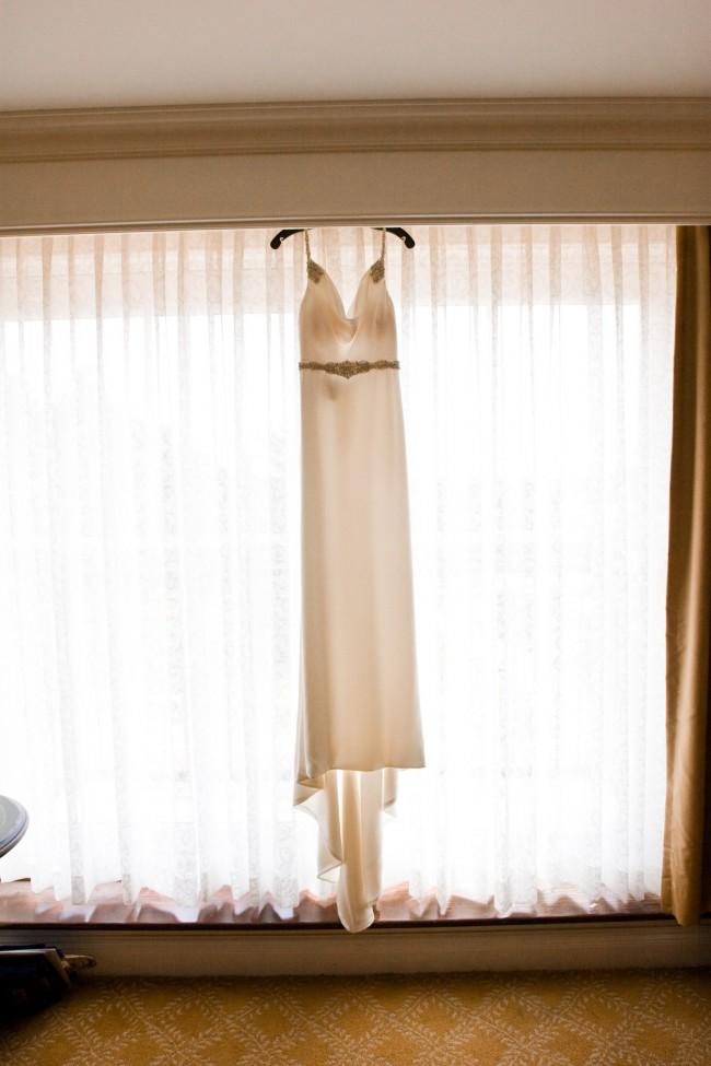 Kenneth Pool, Satin Silk Wedding Dress