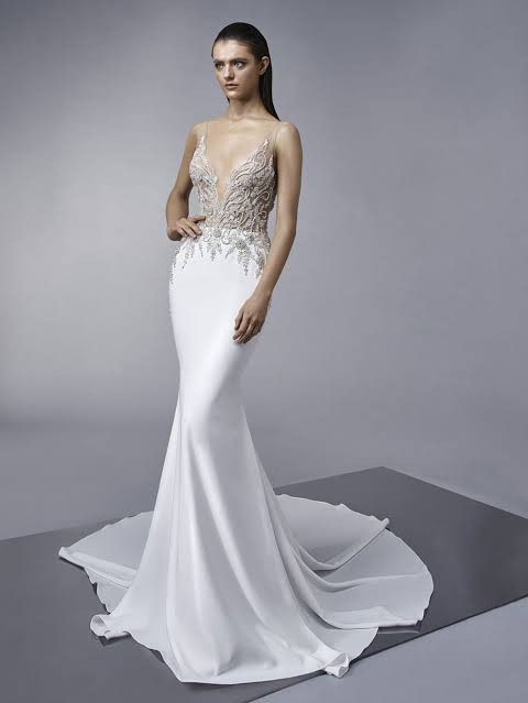 Enzoani, Melinda Enzoani Couture dress