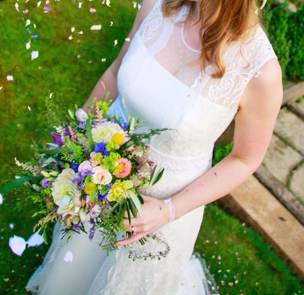 Second Hand Wedding Gown: Rembo Styling Tamara Second Hand Wedding Dress On Sale 79