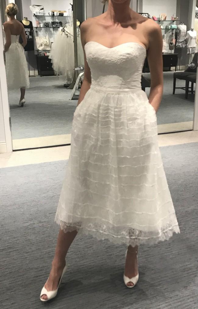 Melissa Sweet, Short Lace Wedding Dress