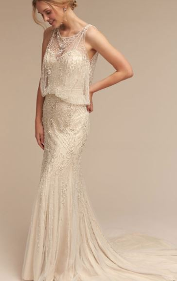BHLDN Jacinda gown