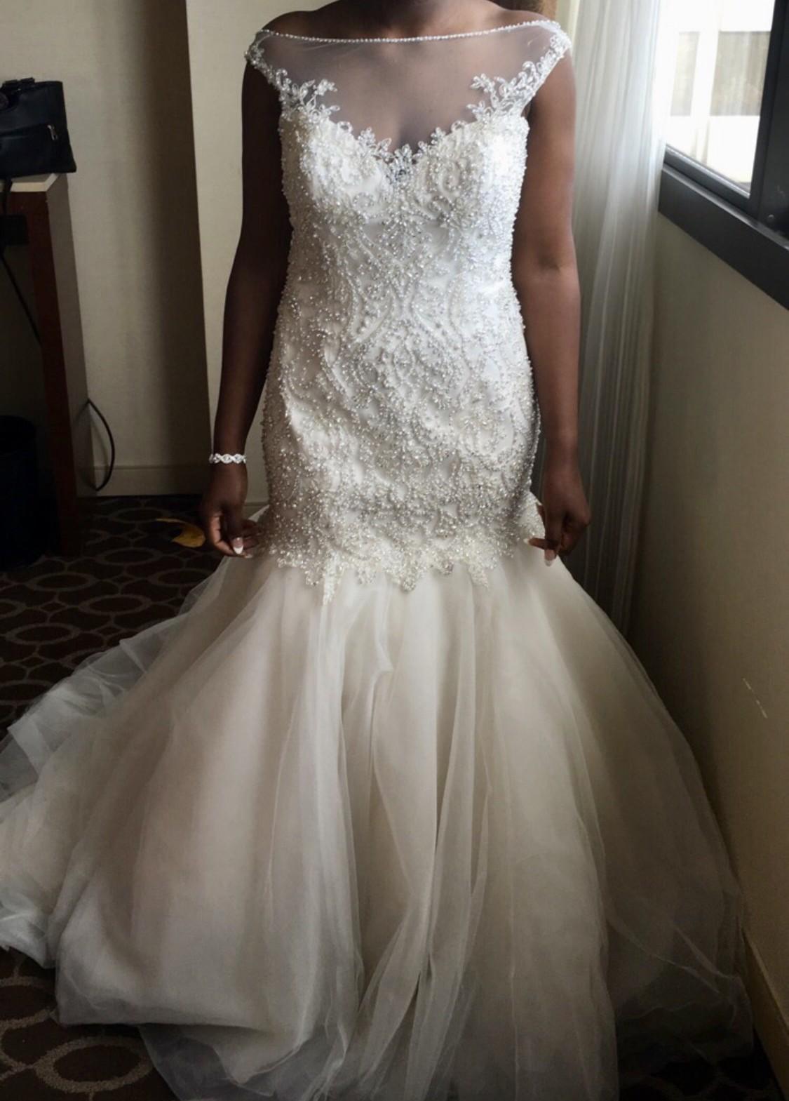 David Tutera Used Wedding Dress Save 66 Stillwhite