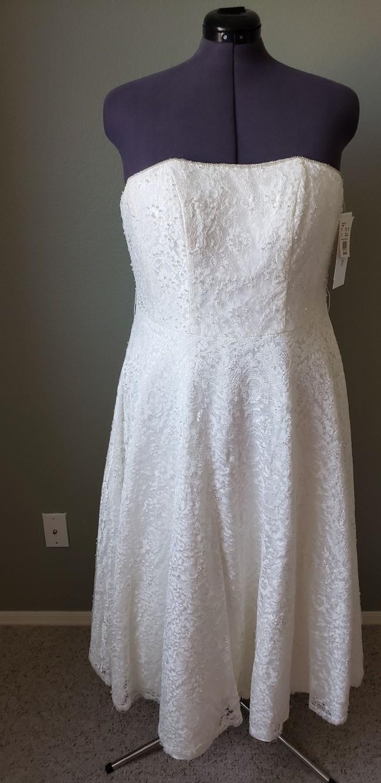 David's Bridal 9T9948 Ivory