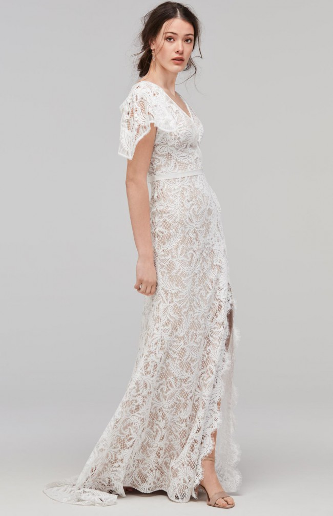 Willowby Udara (£995.00) with Catherine Deane Hayley Skirt