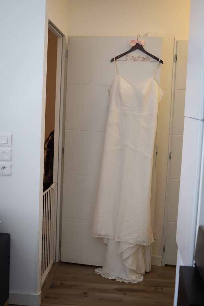 Galina Signature, Allover Lace Tank Sheath Wedding Dress