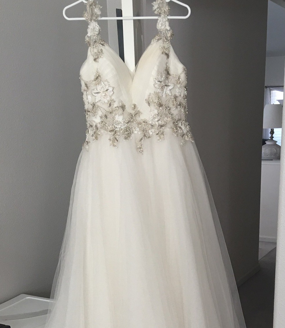 Maggie Sottero Shelby Used Wedding Dress On Sale 55% Off