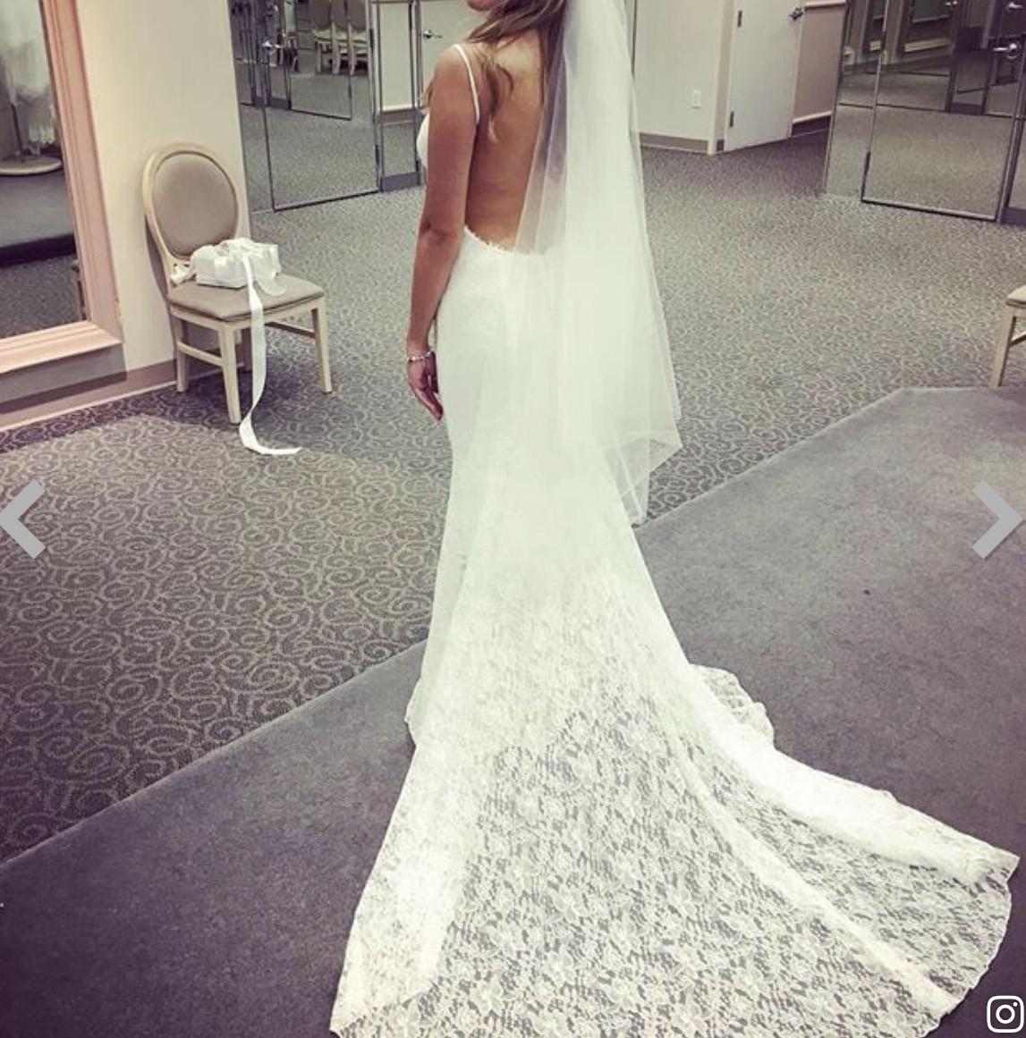 Galina Backless Wedding Dress