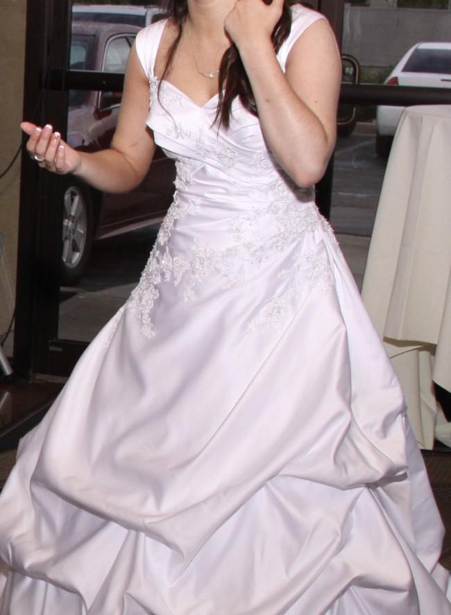 David's Bridal WG3076