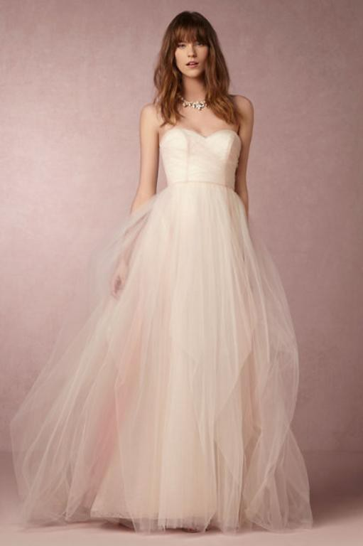 Blush by Hayley Paige, Bella Candi Gown