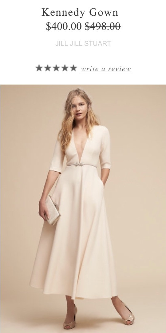 BHLDN, Kennedy Gown