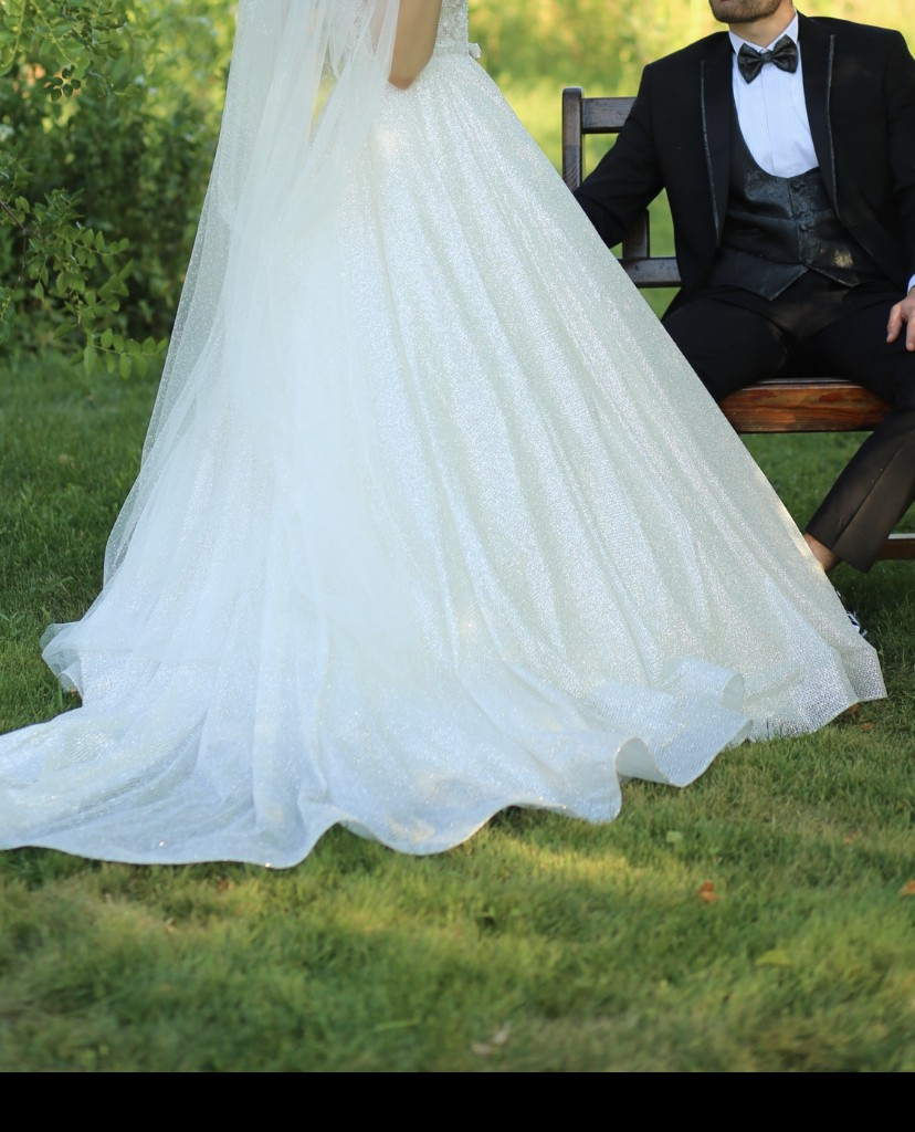 A-Line Used Wedding Dress Save 43%
