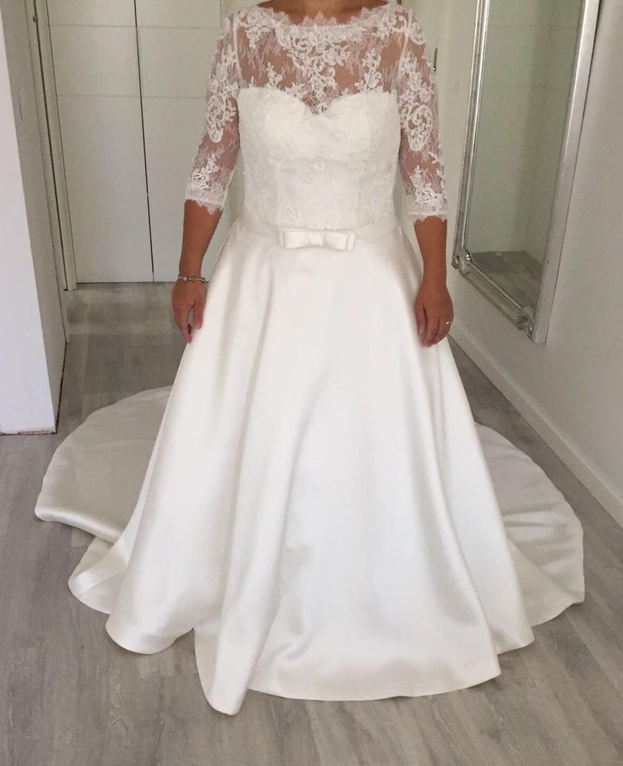 Pronovias Toricela Off White New Wedding Dress Save 68 Stillwhite