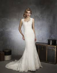 Justin Alexander Queen Anne Venice Lace and Organza Mermaid Gown